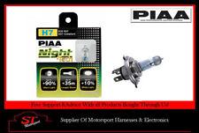 Piaa H7 noche Tech Bombillas HE823 Bombillas 55W 90% más brillantes