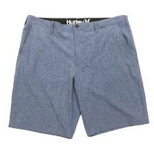 """Hurley Men's Phantom Boardwalk 21"""" Walking Shorts In Obsidian Blue Sz 38"""