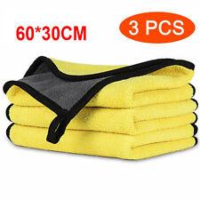 3x Super Absorbent Car Kitchen Microfiber Towel Clean Drying Wash Cloth 30*60cm