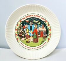 Vtg 1976 Hansel and Gretel Plate-Wedgwood England China-Brothers Grimm StoryNice