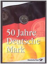 Bundesrepublik Erinnerungsblatt 1998 Deutsche Mark