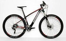 "STRADALLI 29er FULL CARBON FIBER MOUNTAIN BIKE BICYCLE 29"" MTB L 19"" XT SHIMANO"