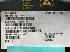 MOLEX 43650-0411 Headers & Wire Housings MICRO-FIT 3.0 HEADER ( 37 pieces )