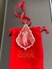 IRIS ARC GOLFER ORNAMENT in RED VELEVET POUCH