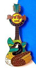 2014 HARD ROCK CAFE TORONTO CANADA GOOSE WITH MOHAWK GUITAR LE PIN