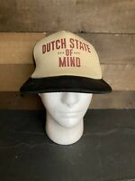 DUTCH STATE OF MIND Adjustable Snapback Trucker Baseball Cap Hat by DISTRICT