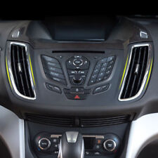 FIT FOR FORD ESCAPE KUGA 13- CHROME FRONT AIR VENT OUTLET COVER TRIM FRAME BEZEL