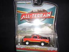 Greenlight Dodge Ramcharger 1978 Red All Terrain Series 1/64