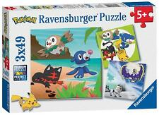 Ravensburger Pokemon 3 X 49pc Jigsaw Puzzles - Delivery