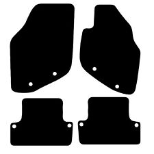 Volvo S60 2000 - 2010 Tailored Black Car Floor Mats Carpets 4pc Set 8 Clips
