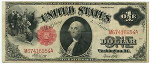 US 1917 $1 Legal Tender Speelman/White FR 39