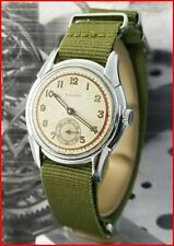 Vintage Swiss Ralco Military WWII Era 35mm AS 984 Radium Dial Men's Watch
