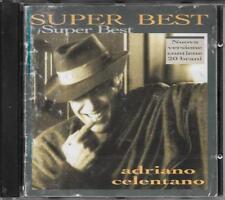 """ADRIANO CELENTANO - RARO CD FUORI CATALOGO  """" SUPER BEST """" NUOVA VERSIONE"""