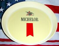 """"""" FREE SHIP!! """" ~ Vintage Mid-Century """" MICHELOB """" Beer Tray:  13"""" dia. x 1 3/4"""""""