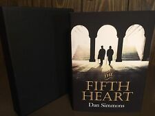 DAN SIMMONS. THE FIFTH HEART. SIGNED LIMITED EDITION SUB PRESS. MINT