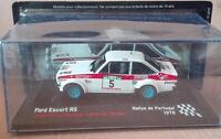 "DIE CAST "" FORD ESCORT RS RALLYE DE PORTUGAL - 1978 "" SCALA 1/43"