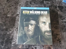 The Walking Dead Season 3 Blu Ray set Darryl Rick Collector Package The Governor