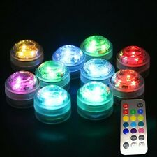 Colorful RGB Remote Control 3 Led Aquarium Lights 4W LED Coral Reef Fish Tank