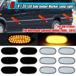 LED Side Marker Indicator Lamp Light For Mercedes Sprinter W906 VW For Crafter