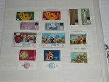 Europa cept 1973 - 1976 y 1978-Malta, entre otros, - véase foto/detalle-post frescos