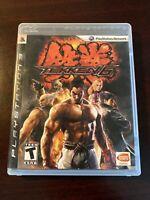 Tekken 6 Black Label (Sony PlayStation 3, PS3, 2009) Completew/ Manual