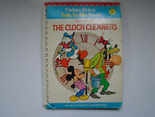 Fisher Price Talk To Me Book #6 Walt Disney's The Clock Cleaners, 1978