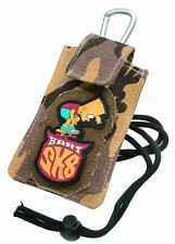 BART SIMPSON UNIVERSAL PHONE POUCH with LANYARD & J-STRAP BELT CLIP Retail Pack