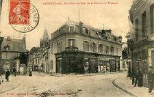Carte LAIGLE L'AIGLE Carrefour des rues de la Gare et des Tanneurs