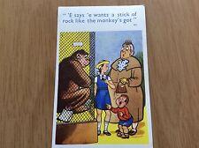 Vintage unposted saucy comic POSTCARD: Coastal Cards, No. 231