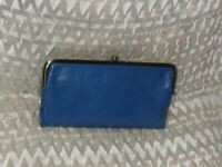 Hobo International Lauren Leather Clutch ~ BLUE BAYOU -  NWOT