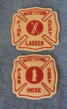 Hackettstown NJ Fire Department Hose & Ladder Patches