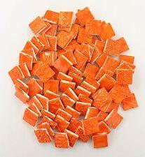 """ORANGE SQUARE Mosaic Ceramic Tiles - 3/4"""""""
