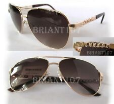 New GUESS GF0321 Gold/Brown Womens Sunglasses $80
