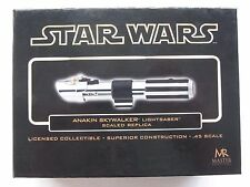 Master Replicas Anakin Skywalker Lightsaber Episode III.45 Scale GOLD Variant