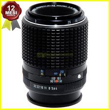 Obiettivo Pentax Asahi Opt. Co Japan SMC M 100mm f4 Closeup Macro per fotocamere