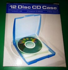 12 Disc CD Case Blue