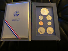 1986 Us Mint Prestige Set w/ 7 Coins