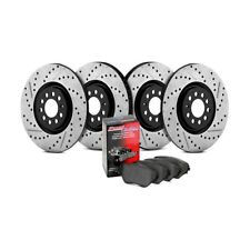 For Honda Civic 12-15 StopTech Street Drilled & Slotted Front & Rear Brake Kit
