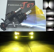 LED Kit V 60W PS24W 5202 H16 3000K Yellow Two Bulbs Fog Light Replacement Lamp