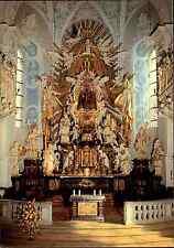 Religion und Kirchen Motiv-Postkarte Kirche Gößweinstein Bayern mit Innenansicht