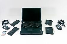 DELL INSPIRON 3200 VINTAGE LAPTOP PENTIUM with DOCK and EXTRAS - FAST SHIPPING!