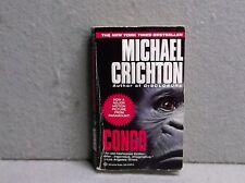 CONGO Michael Crichton  ADVENTURE MYSTERY Ballantine Paperback