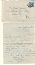 England 1951 cover & letter Sylvia M Darke Exeter to actress Paula Raymond MGM
