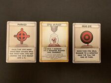 Binding of Isaac Four Souls Target Exclusive Cards Marked/Dead Eye/Epic Fetus