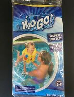 H20 Go! Inflated Tropical Swim Vest - Ages 3-6 - Swimming/Pool/Water - FREE SHIP