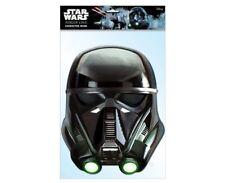 mort & RIVE trooper star wars rogue un 2D Pack 2 CARTE Masques de visage de fête