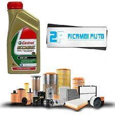 Kit tagliando olio CASTROL EDGE 5W30 5LT+4 FILTRI VW GOLF IV VARIANT 1.9 TDI 81