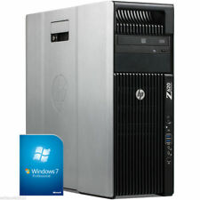 Workstation HP Z620 2x E5-2690 2.9GHz 128GB 500GB SSD NVIDIA QUADRO K5000 WIN 7