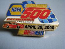2000 Napa Auto Parts 500 Fontana California Nascar Racing Event Hat Pin