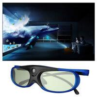 Universal Active Shutter 3D Glasses for BenQ/Acer DLP-Link Projector USB Charge